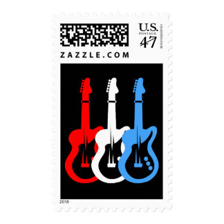 electric guitars postage