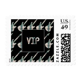 Electric Guitars - VIP Music Stamp