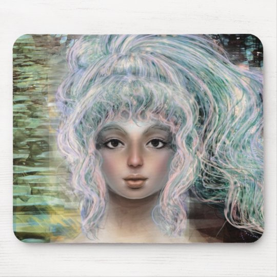 Electric Hair Mouse Pad