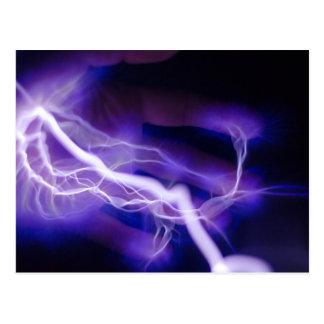 Electric Hand Postcard
