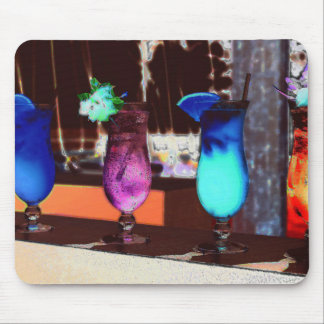 Electric Happy Hour Mouse Pad