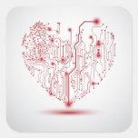 Electric Heart Sticker