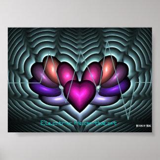 Electric Heartbeat Print