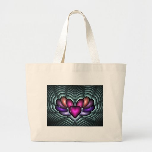 Electric Heartbeat Tote Bag