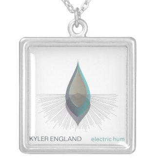 Electric Hum Square Necklace