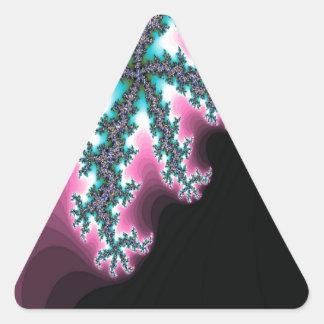 Electric Ice Triangle Sticker