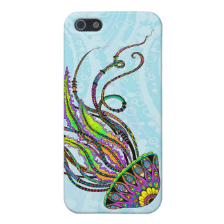 Electric Jellyfish Case Savvy iPhone 5 Case