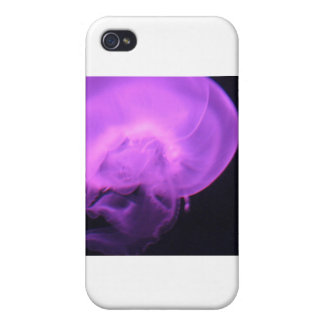 Electric Jellyfish iPhone 4 Cover