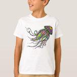 Electric Jellyfish Kids Shirt