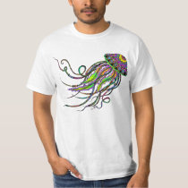 Electric Jellyfish Men's Shirt