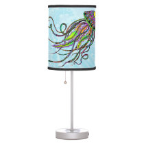 Electric Jellyfish Table Lamp