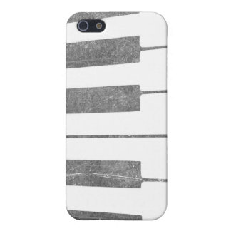 electric keyboard keys grunge scratch music case for iPhone SE/5/5s