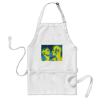 Electric Kissing Aprons