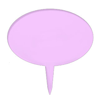 Electric Lavender Pink Cake Topper