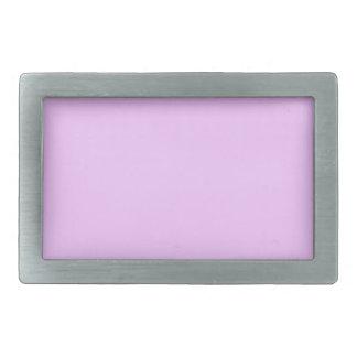 Electric Lavender Pink Rectangular Belt Buckles