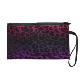 Electric Leopard Skin Fashion Wrist Purse