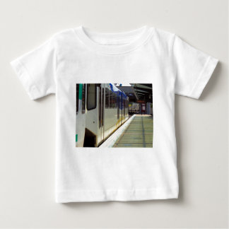 Electric Light Rail Train Close Up Baby T-Shirt