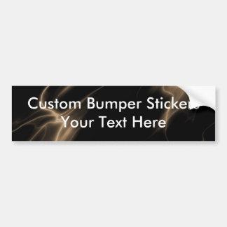 ELECTRIC LIGHTNING BLACK SEPIA BUMPER STICKER