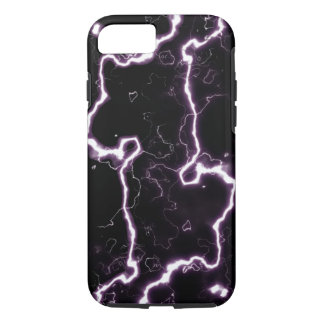 Electric Lightning Bolts iPhone 7 Case