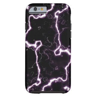 Electric Lightning Bolts Tough iPhone 6 Case