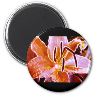 Electric Lilly Magnet