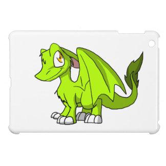 Electric Lime SD Furry Dragon iPad Mini Cases