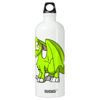 Electric Lime SD Furry Dragon SIGG Traveler 1.0L Water Bottle