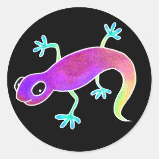 Electric Lizard! Classic Round Sticker