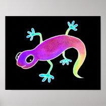 Electric Lizard! Poster