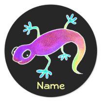 Electric Lizard Sticker