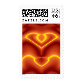 Electric Love Birds Postage