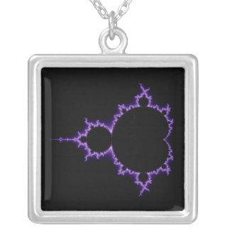 Electric Mandelbrot Set Necklace