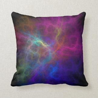 Electric Mist II Lumbar and Throw Pillows