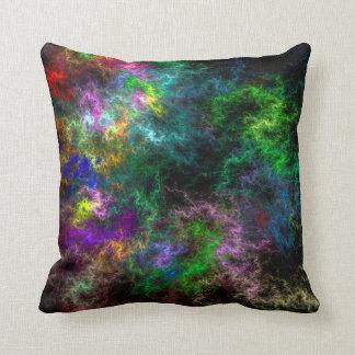 Electric Mist Lumbar and Throw Pillows
