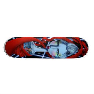 Electric Mohawk Skateboard Deck