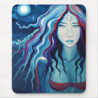 Electric Moon - Mouse Mat -