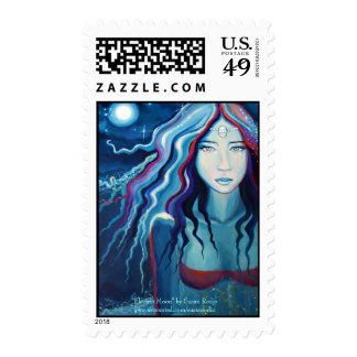 Electric Moon Stamp
