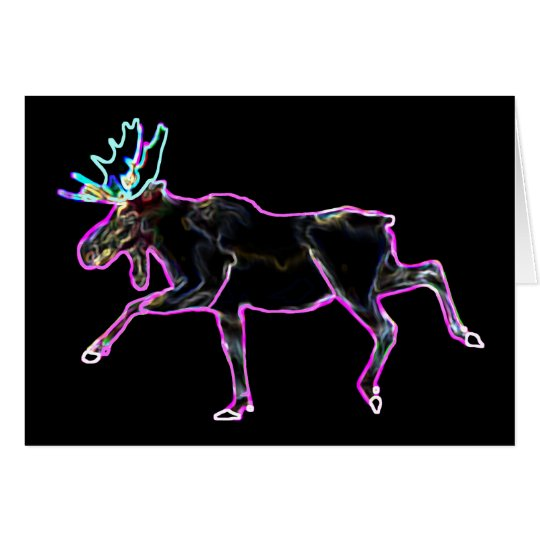 Electric Moose Card
