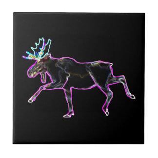 Electric Moose Ceramic Tile