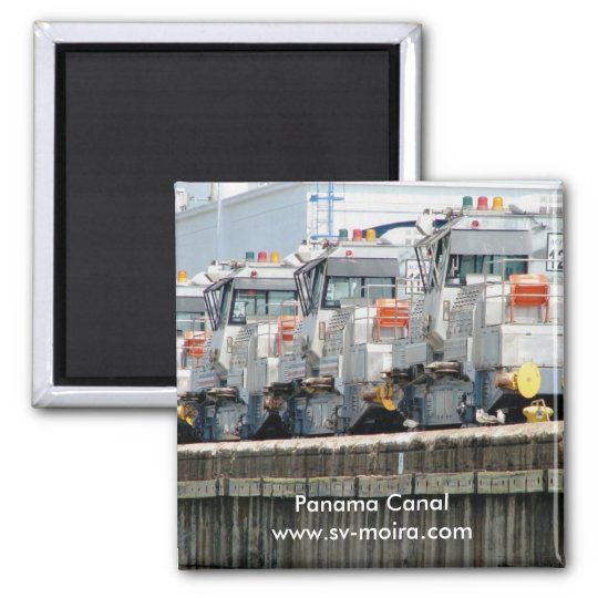 """Electric """"mules,"""" Pedro Miguel Locks, Panama Canal Magnet"""