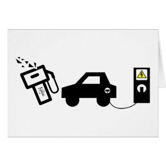 Electric Murder Card