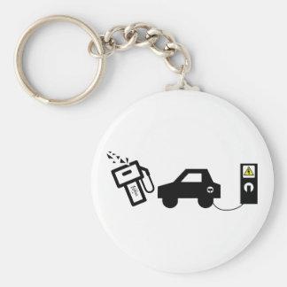 Electric Murder Keychain