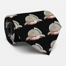 Electric namazu neck tie