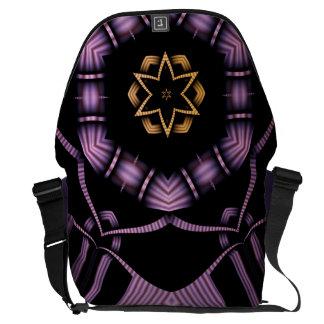 Electric North Star Messenger Bag