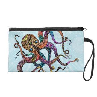Electric Octopus Bagettes Bag Wristlets