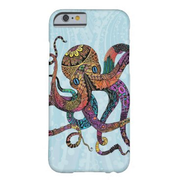 Beach Themed Electric Octopus iPhone 6 case
