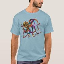 Electric Octopus Men's Tee