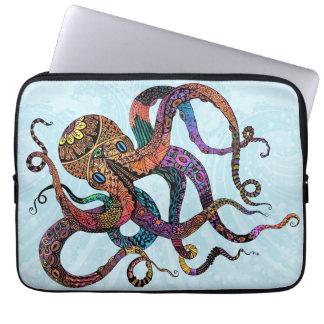 Electric Octopus Neoprene Laptop Sleeve