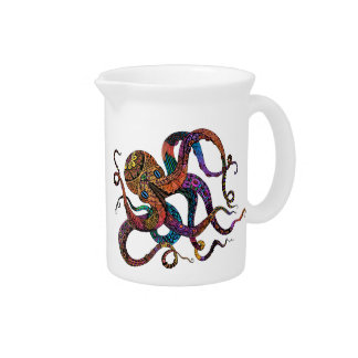 Electric Octopus Pitcher