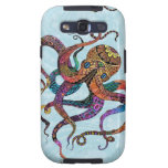 Electric Octopus Samsung Galaxy 3 Case Galaxy SIII Covers